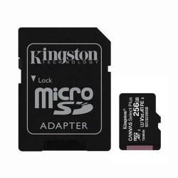 Tarjeta de Memoria Kingston Canvas Select MicroSDXC 256GB UHS-1 U1 V10