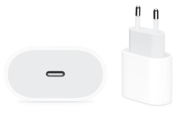 Apple Adaptador de Corriente USB-C 20W Blanco
