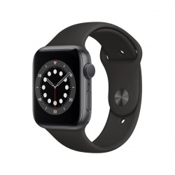 Apple Watch Series 6 GPS, 44 mm Caja de aluminio en gris espacial