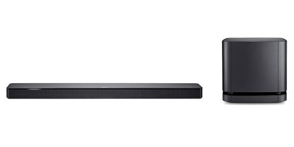 Bose Pack Soundbar 500 + Bose Bass Module 500